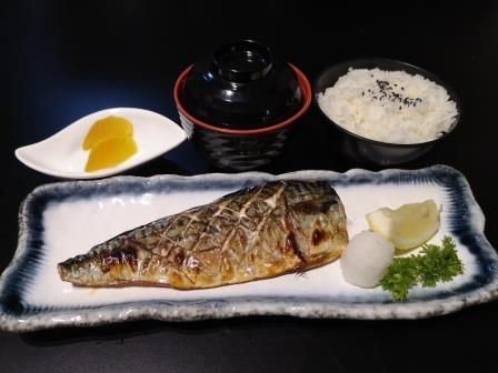 Saba Shioyaki Set Lunch