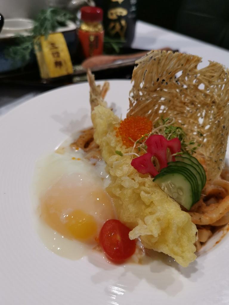 Pasta Udon Tempura